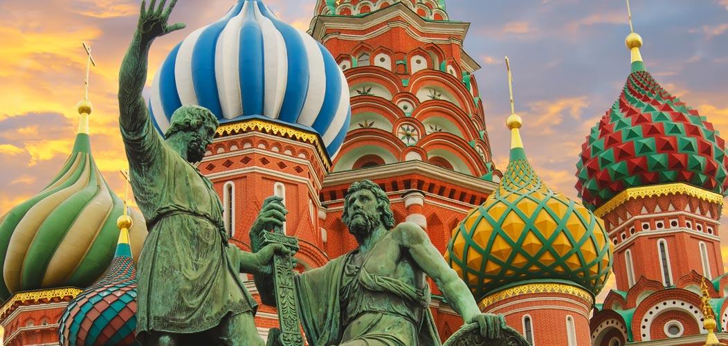 Cattedrale San Basilio, Russia - Scandinavia