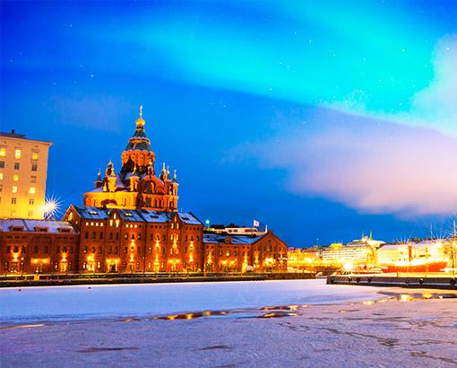 Helsinki Port, Finlandia - Scandinavia