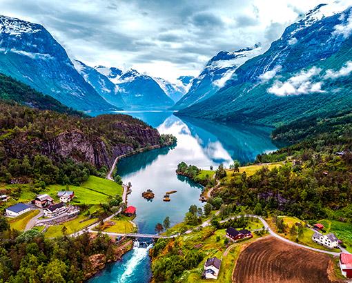 Landscape, Norvegia - Scandinavia