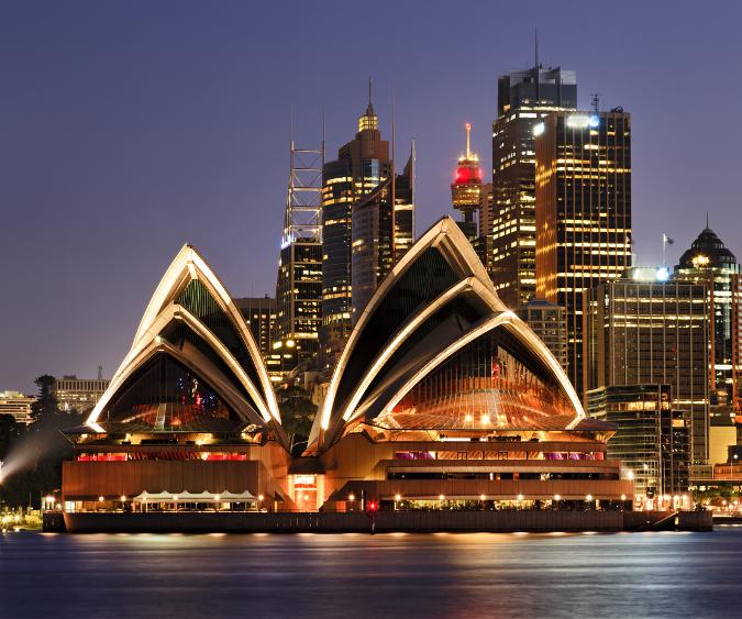 Sydney Opera House velocità dating