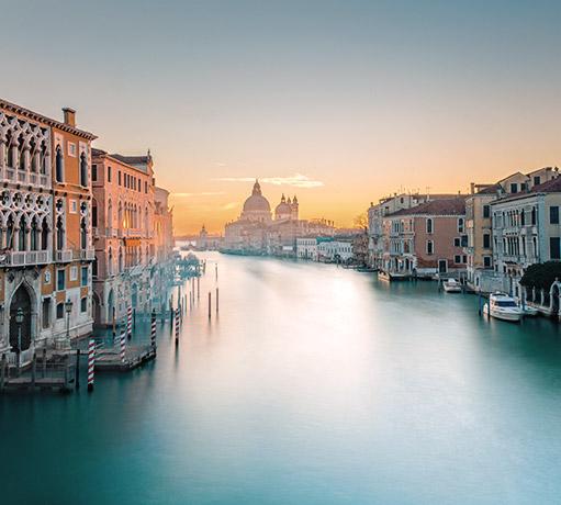 Panoramica di Venezia, Veneto - Italia