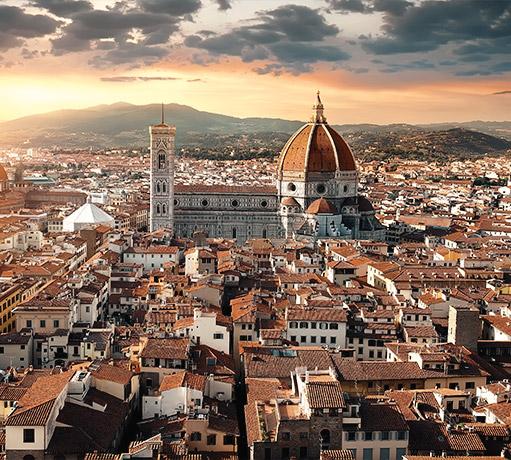 Panoramica di Firenze, Toscana - Italia