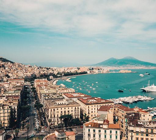 Panoramica di Napoli, Campania - Italia