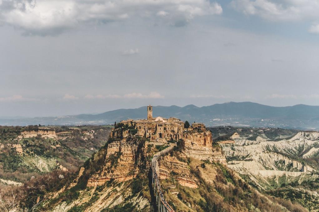 Tuscia paesaggi Etruschi