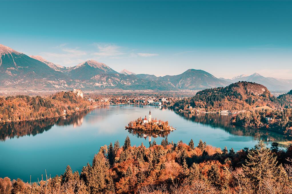 Slovenia d'incanto d'autunno